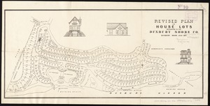 Revised plan of house lots belonging to the Duxbury Shore Co