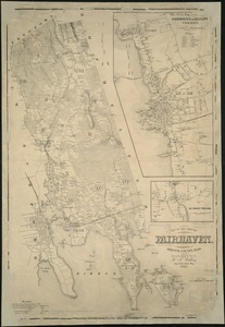 Map of the town of Fairhaven, Bristol County, Mass