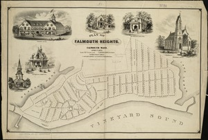 Plan of Falmouth Heights, Falmouth Mass., April 1st 1873