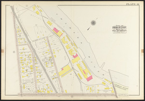 Atlas of the city of Boston, ward 25, Brighton