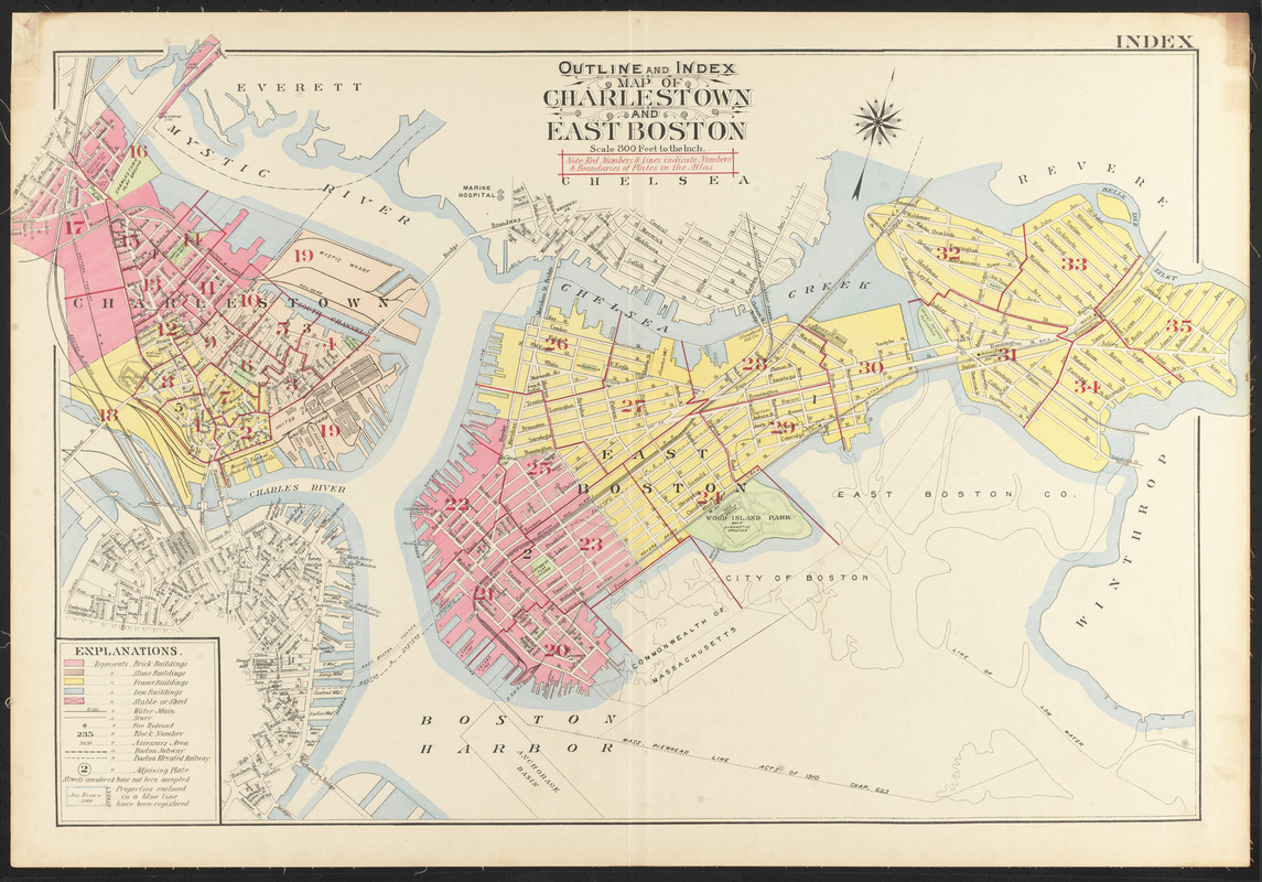 Outline and index map of charlestown and east boston digital outline and index map of charlestown and east boston gumiabroncs Gallery