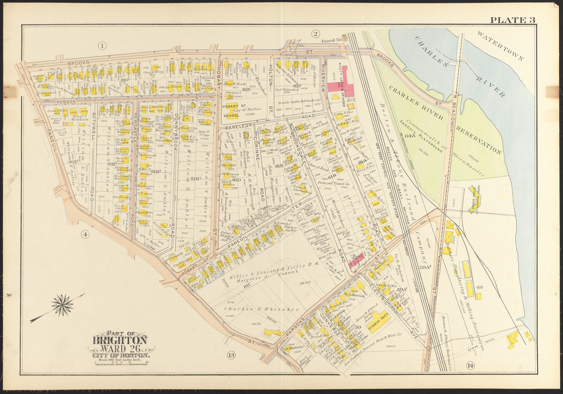 Atlas of the city of Boston, wards 25 & 26, Brighton