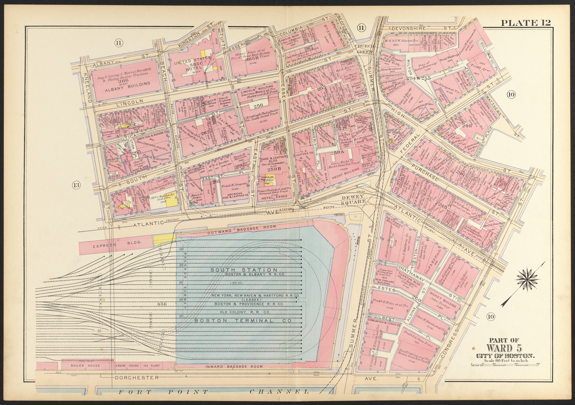 Atlas of the city of Boston, Boston proper and Back Bay