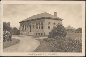 Memorial Library, Falmouth.