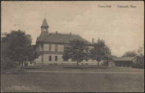 Town Hall. Falmouth, Mass.