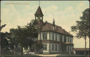 Town Hall. Falmouth, Mass
