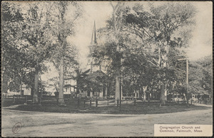 Congregation Church and Common, Falmouth, Mass.