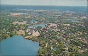 Air View, Falmouth, Massachusetts, on Cape Cod