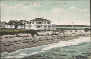 Res. Of J.C. Elms from the Pier, Menauhant-by-the-Sea, Mass.