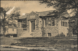 Public Library, Woods Hole, Cape Cod, Mass.