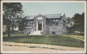 Public Library, Woods Hole, Mass.