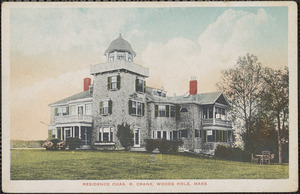Residence Chas. R. Crane, Woods Hole, Mass.