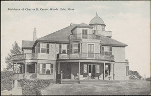 Residence of Charles R. Crane, Woods Hole, Mass.