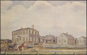 Ephraim Manassah Swift Home Woods Hole, Mass., 1831