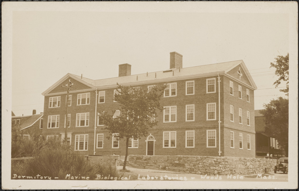 Dormitory, Marine Biological Laboratories, Woods Hole, Mass.