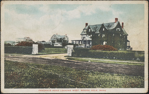 Penzance Road Looking West, Woods Hole, Mass.