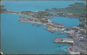 Air View of Woods Hole, Massachusetts