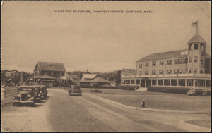 Along the Boulevard, Falmouth Heights, Cape Cod, Mass.