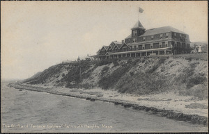 "The Bluff and ""Terrace Gables"" Falmouth, Mass."