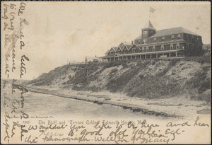 "The Bluff and ""Terrace Gables"" Falmouth Heights, Mass."