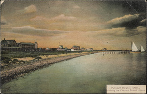 Falmouth Heights, Mass., showing the Vineyard Sound House