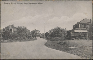 Chester Street, looking east, Megansett, Mass.