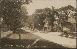 Main St. No. Falmouth Mass