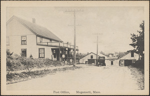 Post Office, Megansett, Mass.