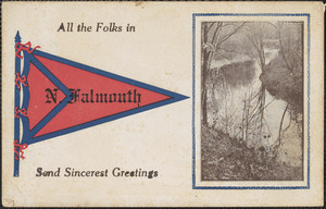 All the Folks in N. Falmouth Send Sincerest Greetings