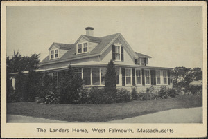 The Landers Home, West Falmouth, Massachusetts