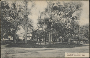 Congregation Church and Common, Falmouth, Mass