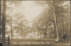 View in Goodwill Park, Falmouth, Mass.