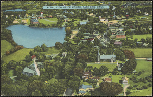 Aerial View of Falmouth, Cape Cod, Mass.