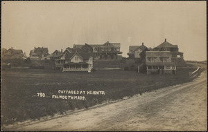 Cottages at Heights, Falmouth, Mass.