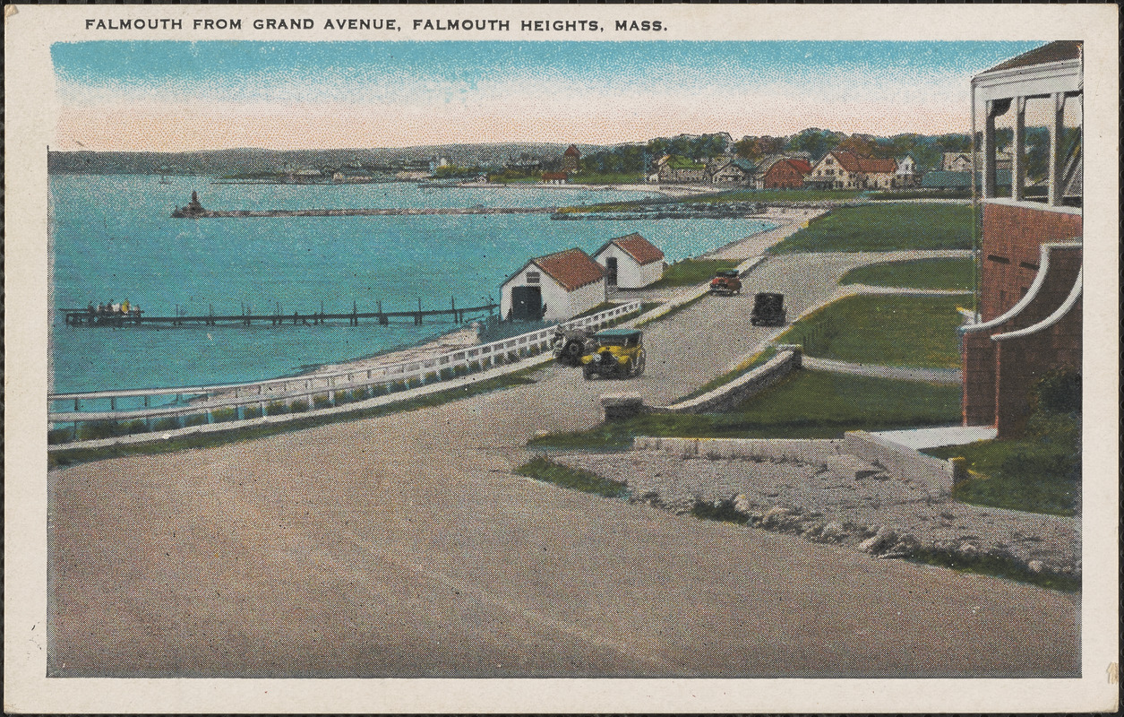 Falmouth From Grand Avenue, Falmouth Heights, Mass.