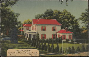 The Antlers Inn, Route 28 East Falmouth Massachusetts