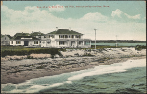 Res. Of J. C. Elms from the Pier, Menauhant-by-the-Sea, Mass.