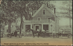 Post Office & Store, North Falmouth, Mass.