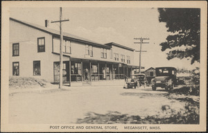 Post Office and General Store, Megansett, Mass.