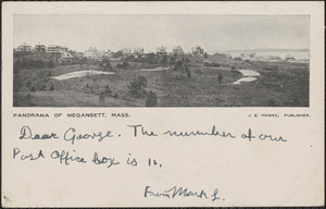 Panorama of Megansett, Mass.