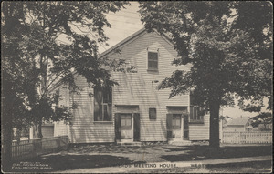 Friends' Meeting House, West