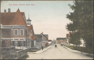 Main Street, Woods Hole, Mass.