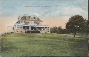 Residence of Chas. Whittemore, Quissett, Mass.