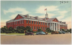 Administration building, Marine Corps Recruit Depot, Parris Island, S. C.
