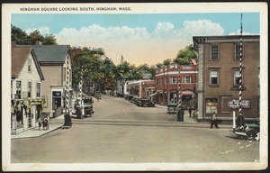 Hingham Square looking south, Hingham, Mass.