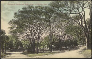 Junction of Lincoln and North Street, Hingham, Mass.
