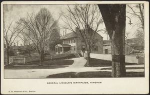 General Lincoln's birthplace, Hingham