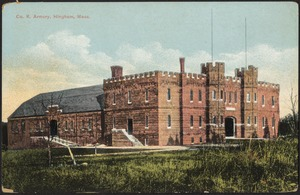 Co. K Armory, Hingham, Mass.