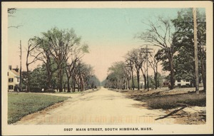 Main Street, South Hingham, Mass.