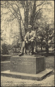 Lincoln monument, Hingham, Mass.